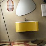 Design Badezimmer mit Zementfliesen