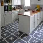 Küche - Zementfliesen